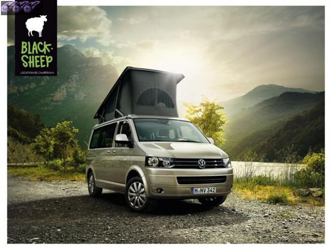 5 places location campervan california vw rh ne alpes. Black Bedroom Furniture Sets. Home Design Ideas